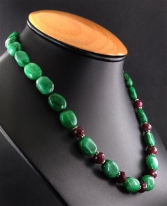 Unique Emerald and Ruby Jewelry from India