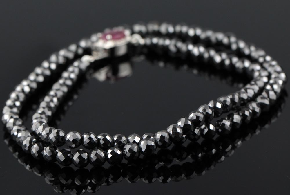 Handmade Black Diamond Jewelry from India
