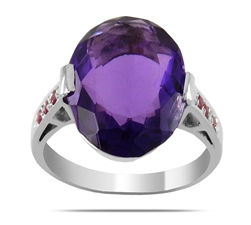 Birthstones ring-delicate jewelry with purpose