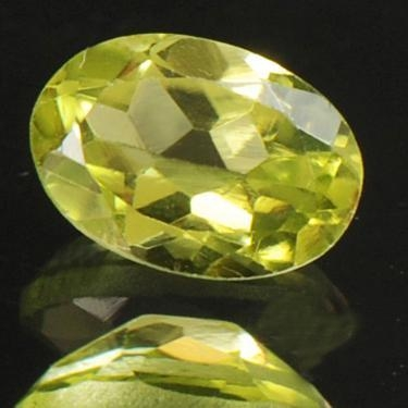 Natural Peridot Gemstone with Certificate